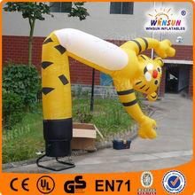 airdancer, sky dancer, air tubes, tiger air dancers inflatable car wash