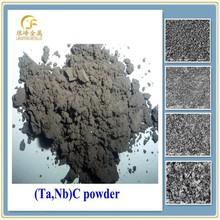 monthly exported to Korea, solid solution powders of tantalum carbide TaC-niobium carbide NbC (Ta,Nb)C 6:4 FSSS 0.8-1.5 micron