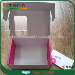 Hot sale Custom corrugated cardboard packing carton box