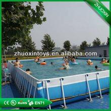 Best selling frame pool,inflatable steel pool