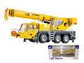 Alaşım metal kamyonlar araba 1:60 mini alaşım bahçesinde- vinç vinçli oyuncaklar