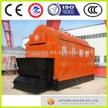 Industrial wood pellet fired hot water boiler efficiency