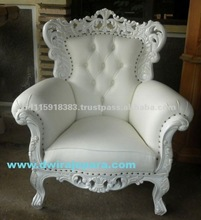 Chair of Jepara Furniture Classic Baroque Chair made by Dwira jepara furniture (Only for serious furniture buyer)