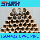 BS standard pvc pipe/upvc pipe BS standard for water supply