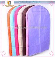 non woven waterproof closet suit wedding dress garment bag wholesale