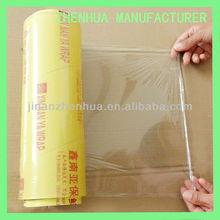 plastic wrap food grade PVC cling film