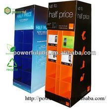 Cardboard Cell Phone Acessories/cellphone display case/Mobile Phone Display Racks