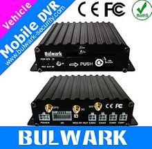 Economical H.264 4ch vehicle mobile DVR car dvr gps navigation for toyota sienna 2012 with