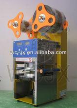 WCS-F08 automatic plastic cup sealing machine sealer for bubble tea