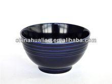 High quality stock ceramic round stoneware soup bowl