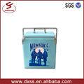 13l caja portátil refrigerador mini barril de vino