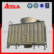 300T single fan high efficiency square cross flow water cooling tower depot