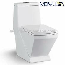 Foshan Ceramics bathroom sanitary ware elegant design one piece toilet