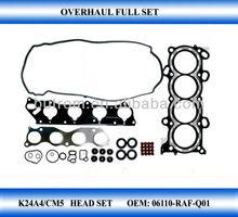 Cylinder Head Set for Honda Accord K24A4/CM5 2.4L