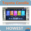 7inch Touch Screen TOYOTA COROLLA Car DVD Support TV/GPS/IPOD functions