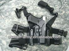 2015 High quality gun/Holster military waist blackhawk GLOCK 17 for leg police tactical gun,