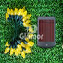 Yellow C6 Strawberry LED Garden Solar Light