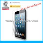 2013 accessories for iPad mini screen protector oem/odm (Anti-Glare)