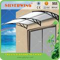 1500x2000mm de aluminio cubierta de material marco de soporte para el pabellón al aire libre de la puerta cubierta de la ventana o shlelter