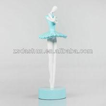 Ds130011 polyresin dancer ballet escultura lembrança do casamento