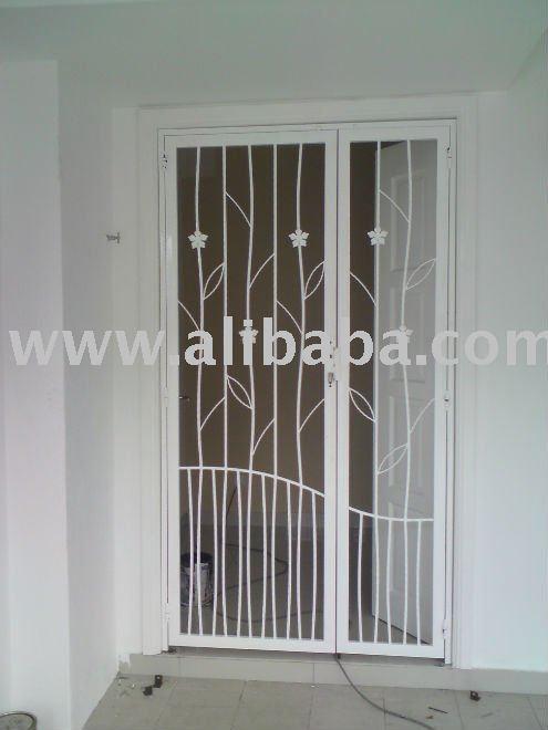 Steel Door Grill Design 495 x 660