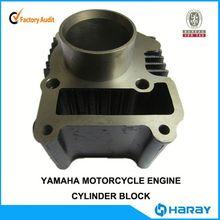 Chinese CRYPTON JY110cc motorcycle engine parts genuine cylinder block for Yamaha 110cc engine