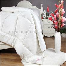 white hotel quilt/duvet/comforter polyester microfiber filling