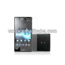 Fingerprint proof screen protector for Sony xperia ion lt28i oem/odm