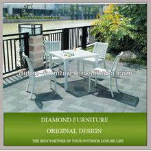 white rattan dining room furniture