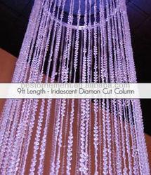 Crystal Columns Wedding Decorations