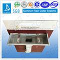 sgb de metal canal de la lluvia de tubos de bajada del sistema