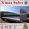 chine 3 40ft à plat trailer essieux