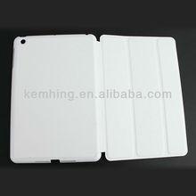 for iPad mini leather case, smart cover leather case for ipadmini