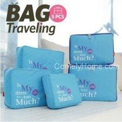 multifunction travel bag,travel organizer bag set 5pcs