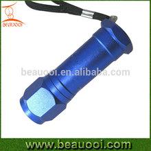 Cheap Mini Screw head Aluminum 9led LED Pocket Torch