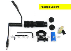 532nm Green DOT 2 Switch Laser Sight rail Mount Set picatinny Gun Rifle