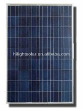 Hot Sale High Efficiency 130w monocrystalline solar panel TUV,IEC,CEC,CE,ISO