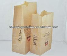 Bespoke Popular Food Package Kraft Paper Bag