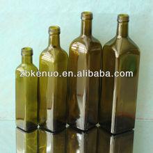 dark green olive oil bottle 250ml/500ml/750ml/1000ml
