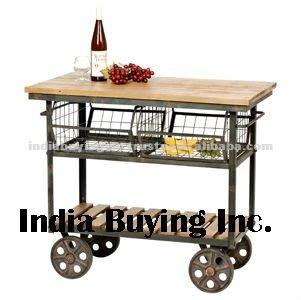 Industrial de muebles vintage mobiliario de cocina for Muebles diseno industrial vintage