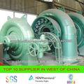 la turbina de agua