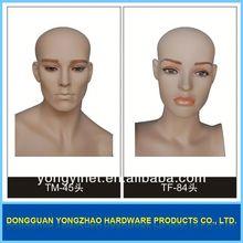 wholesale mannequin!!female glass mannequin head