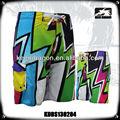 2014 nova coleção colorida swimwear do biquini e calções de praia