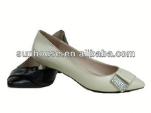 Hot sale! Best! fashionable tassel bowknot stitching leather shoes