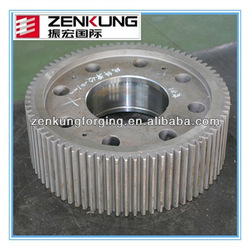Forged steel spur gear ring gear