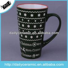 food safe christmas design ceramics mug