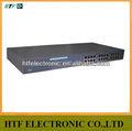 Mini diseño 24 p 10 / 100 M Full duplex Lay2 switch no administrado de fibra Ethernet red hub
