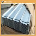 Chapa de aço ondulada/folha galvanizado para telhados de metal preço