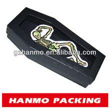 Custom design& imprimé. cercueil décoration hallowmas cadeau boîtes à vendre en gros