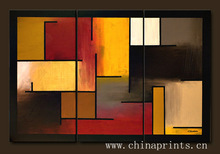 Artist Hand made Abstract Painting By OIL